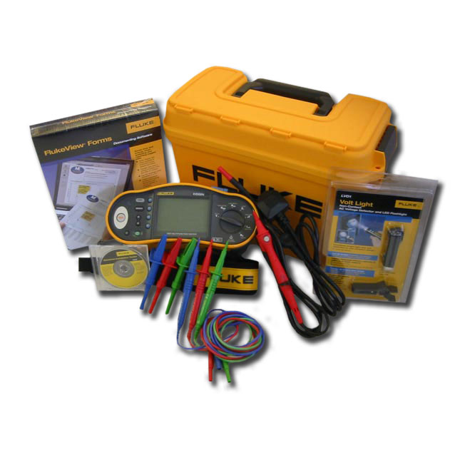 Fluke 1653 16th Edition Multifunction tester and Flukeview Software